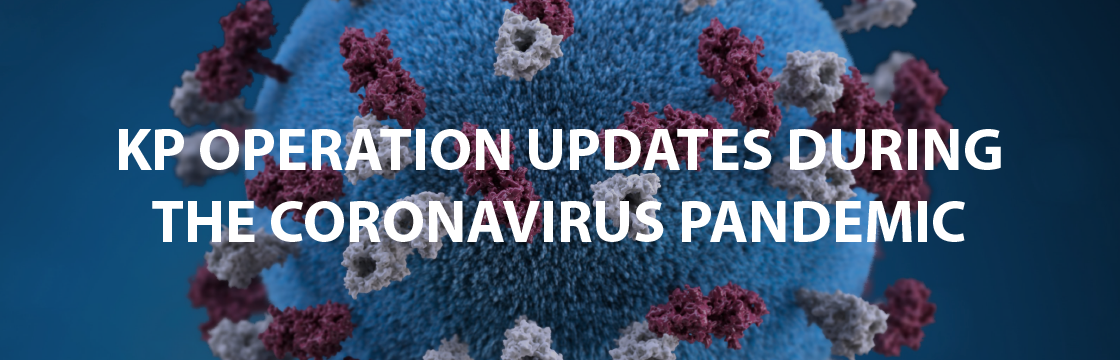 KP operation updates during COVID19 pandemic
